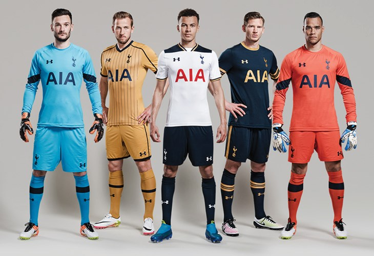 new style 82eb9 72dac Leaked: Tottenham Hotspur Nike home & away kits for the 2017 ...