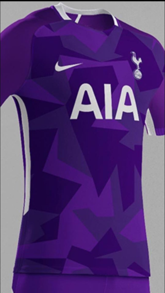 new product 411b5 d55b4 Brand new leaks of Tottenham's reported home, away & third ...