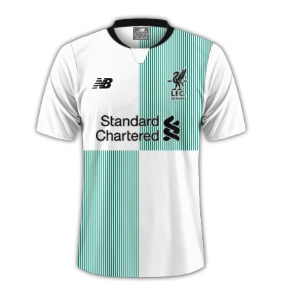 Pic Liverpools Rumored Away Kit For Tujuh Delapan Season Has Leaked Online And Its A Thing Of