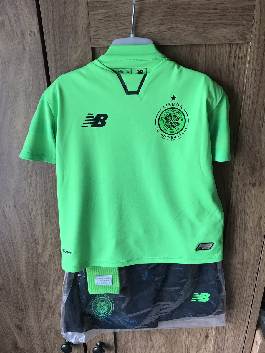 size 40 df489 bc7df First picture of Celtic's all green third kit for 2017/18 ...