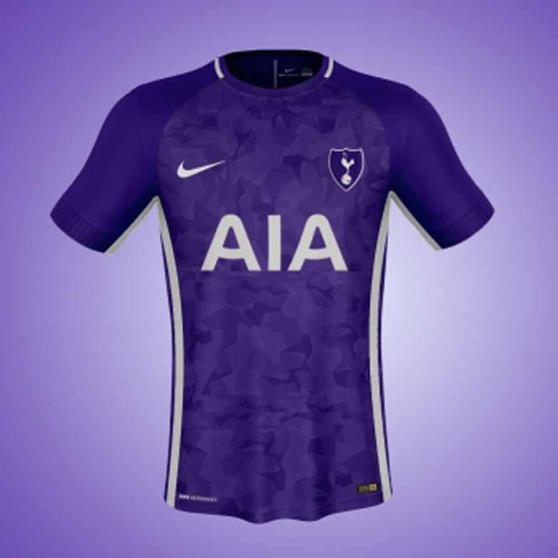 wholesale dealer c9c4c a7e4a Spurple to make a comeback as picture of Tottenham's third ...