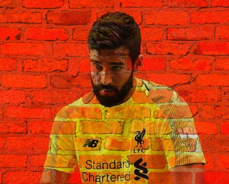 Alisson Becker - The Wall