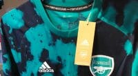 Arsenal Adidas shirt being on sale in Canada