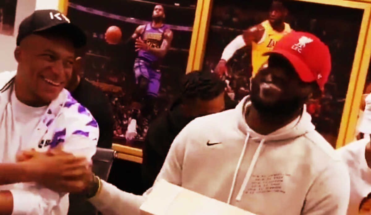 Mbappe and LeBron