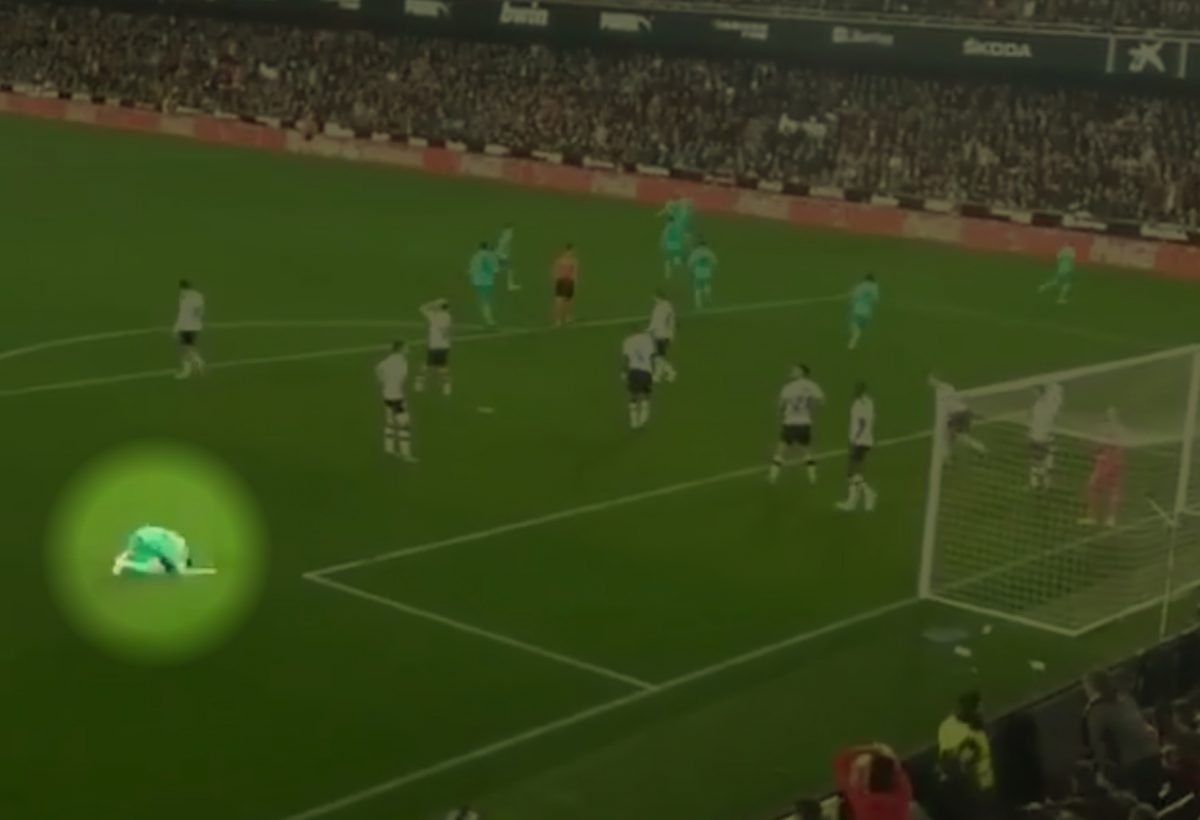 Fede Valverde's reaction to Real Madrid's 95th minute equaliser against Valencia