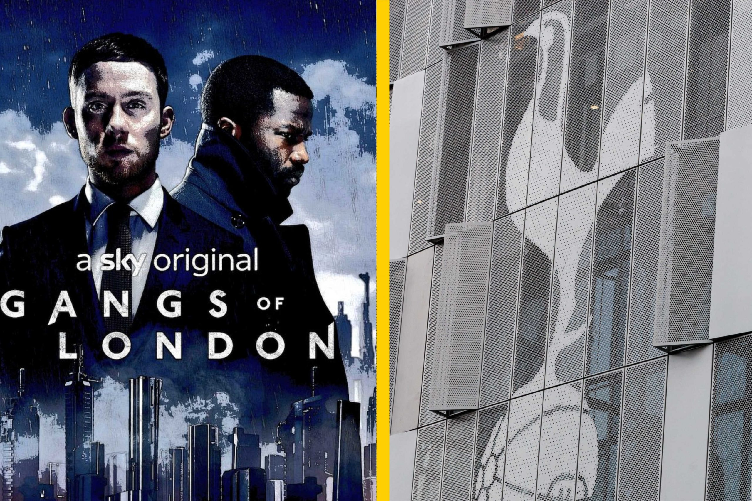 Photo Tottenham Hotspur Stadium Appears On New Mega Action Tv Series Gangs Of London Thick Accent