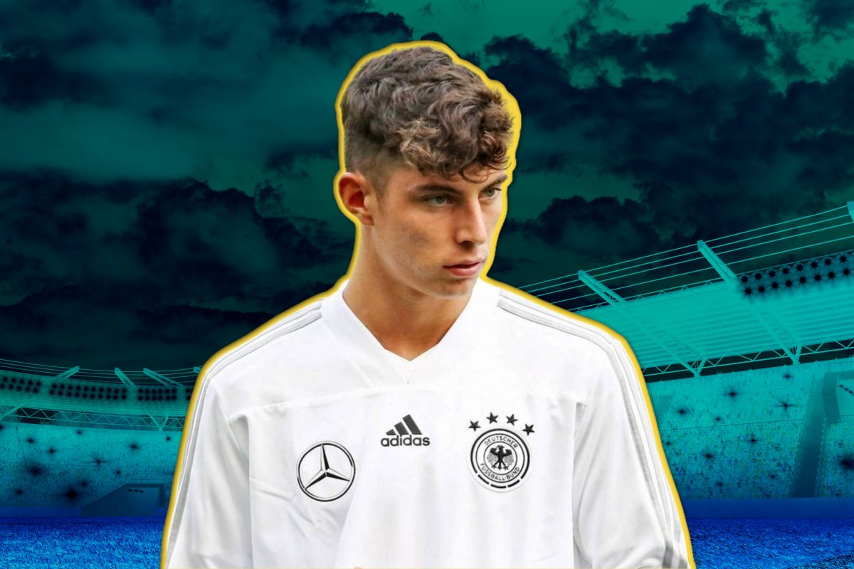 Kai Havertz in Germany national team merchandise