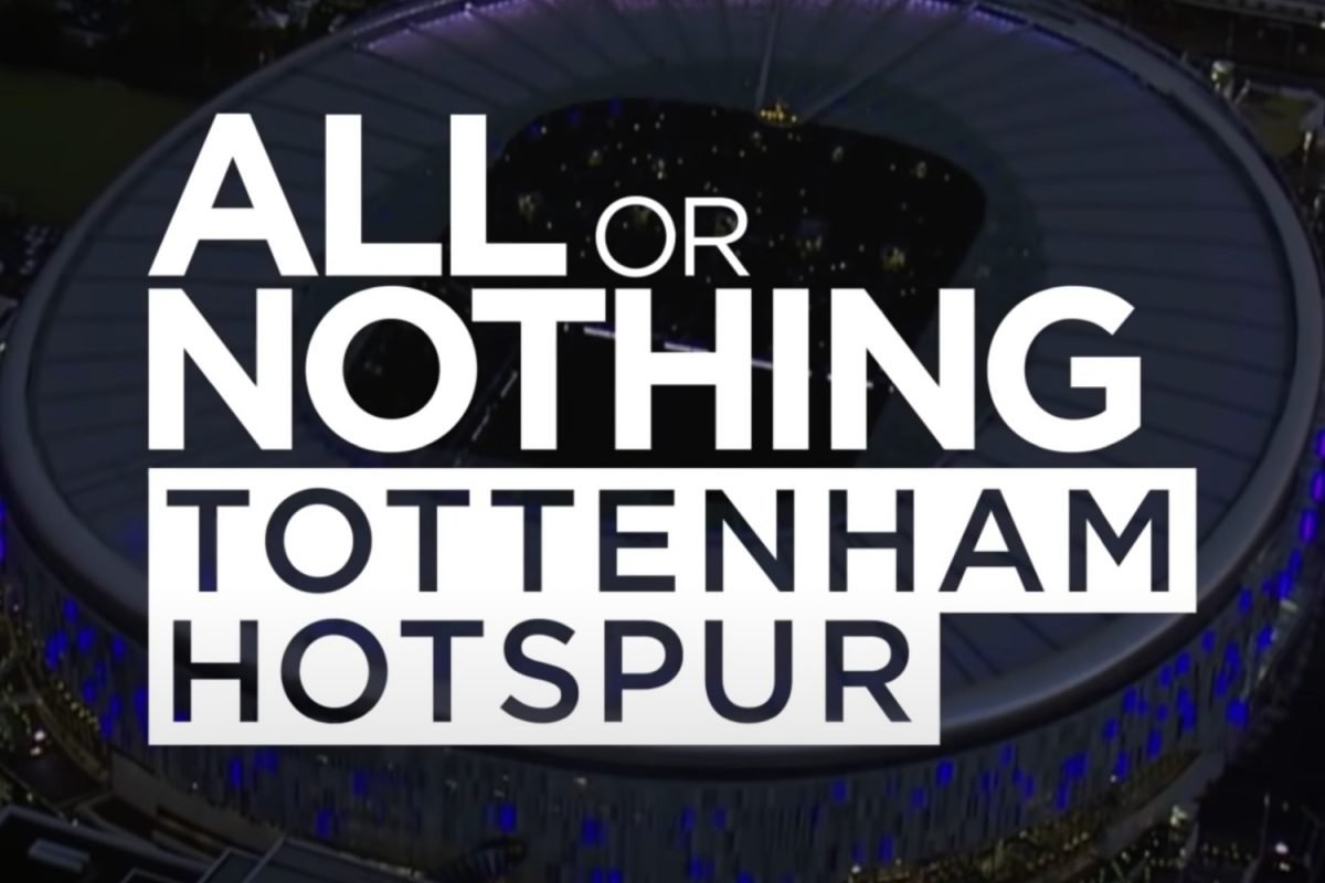 Tottenham Hotspur All or Nothing documentary
