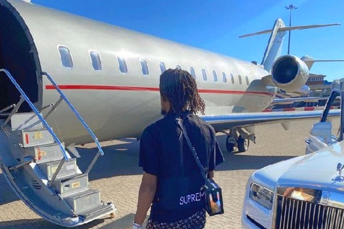 Alex Iwobi forced to delete Instagram post with a private jet and Rolls Royce