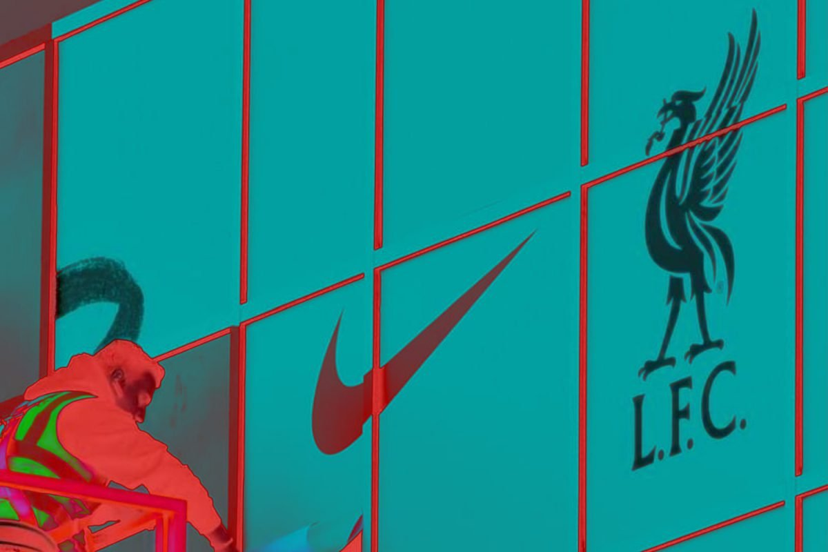 Anfield getting Nike branding