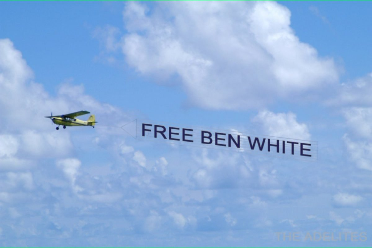 Free Ben White hashtag trends on Twitter