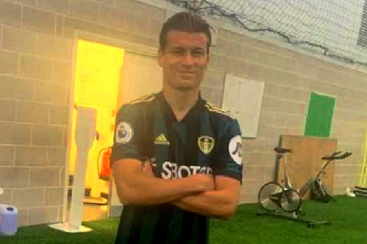 Leeds United away kit for 20/21 season gets leaked by Gjanni Alioski's dad on Instagram