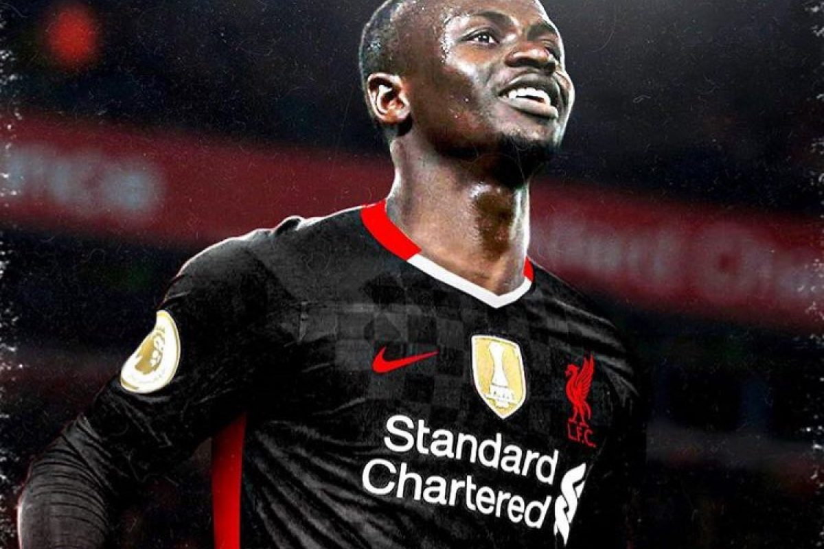 Liverpool's third kit for 20_21 season from Nike edited on Sadio Mane