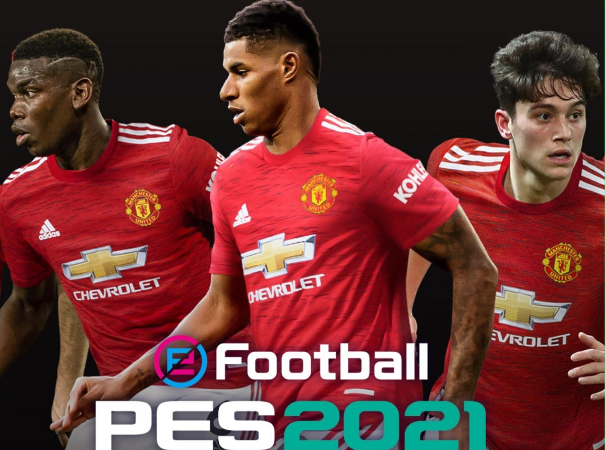Manchester United on PES 2021