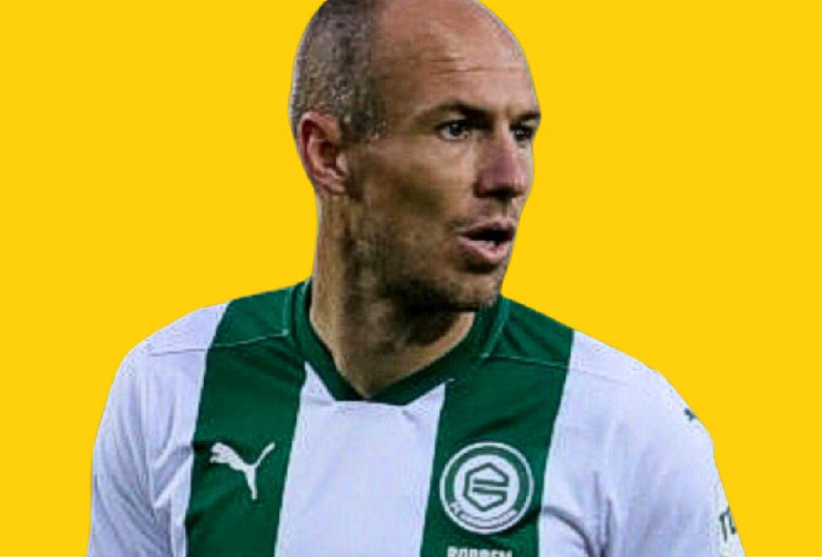 Arjen Robben in Groningen kit
