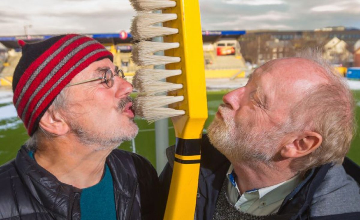 The Norwegian club whose fans like to bring massive yellow toothbrushes to the games