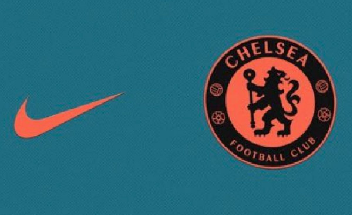 Chelsea third kit 21/22 season colour pattern