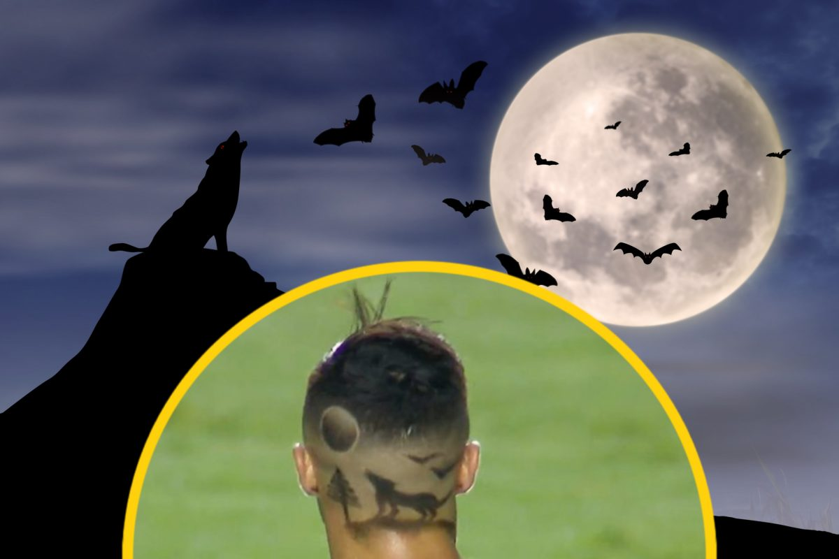 Flamengo forward Michael shows off bizarre 'wolf howling at moon' haircut