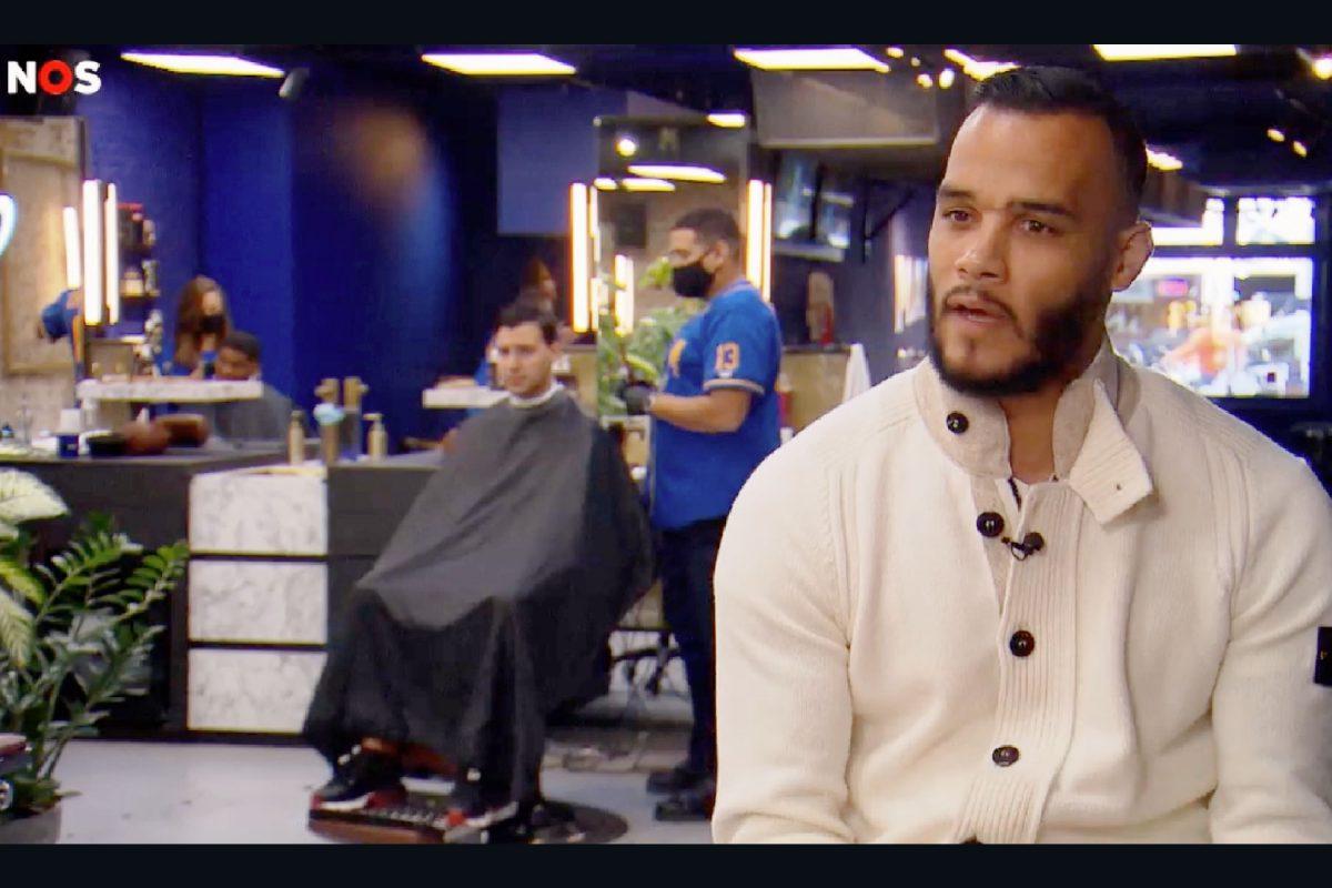 Michel Vorm barbershop