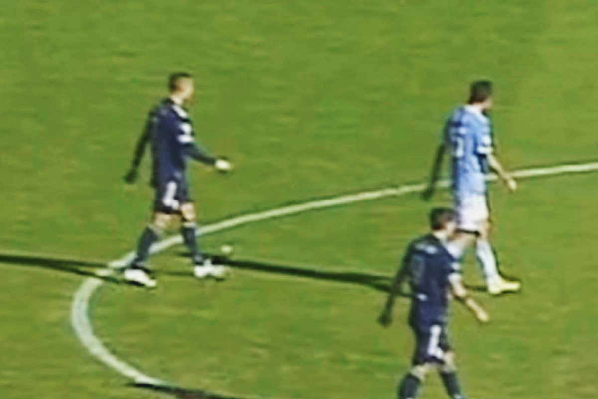 Weird moment Cristiano Ronaldo and Alvaro Morata are found to be completely in sync during Juventus v Lazio
