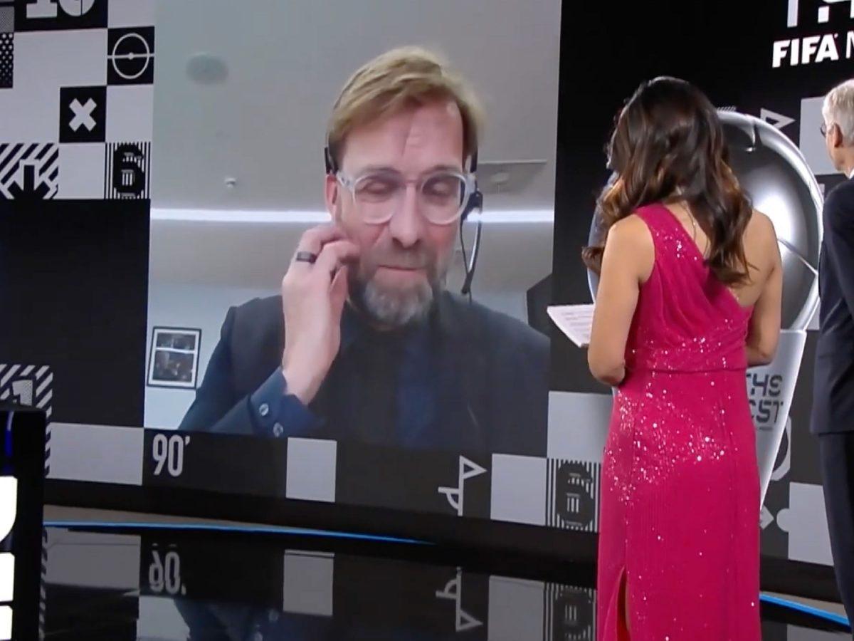 Klopp at FIFA awards