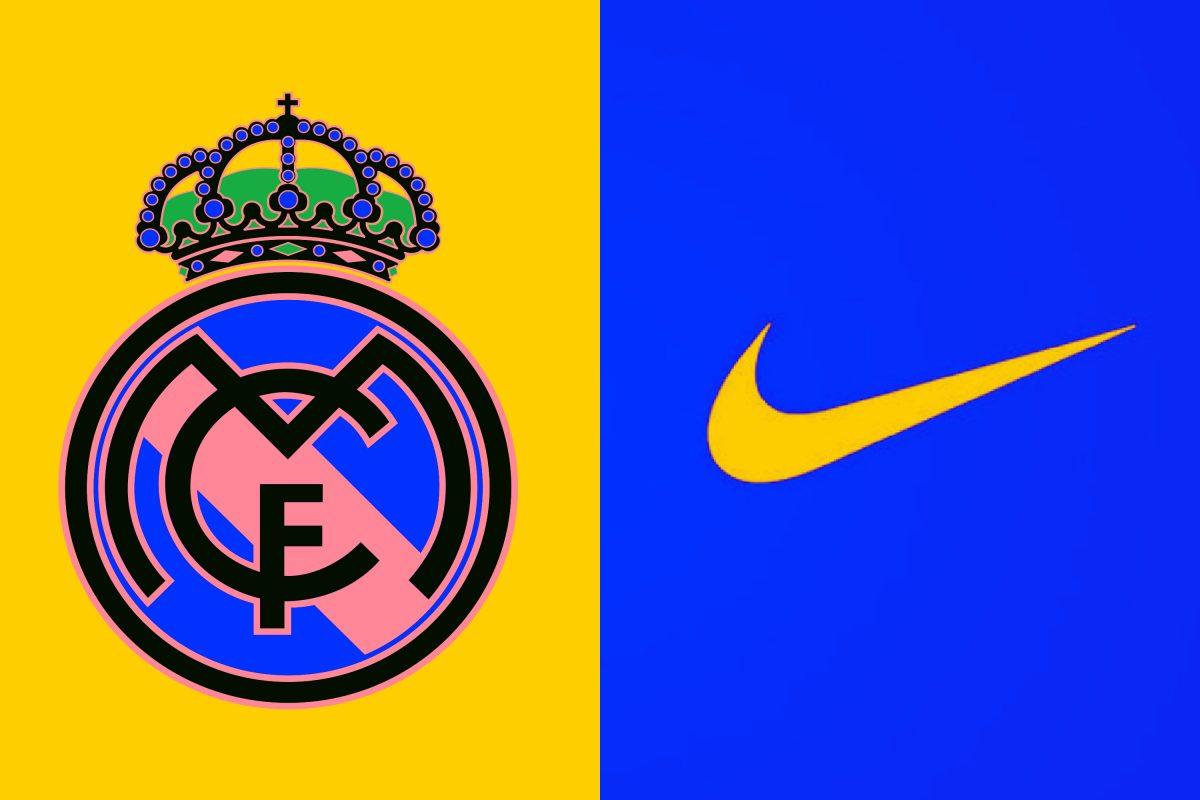 Real Madrid and Nike logo