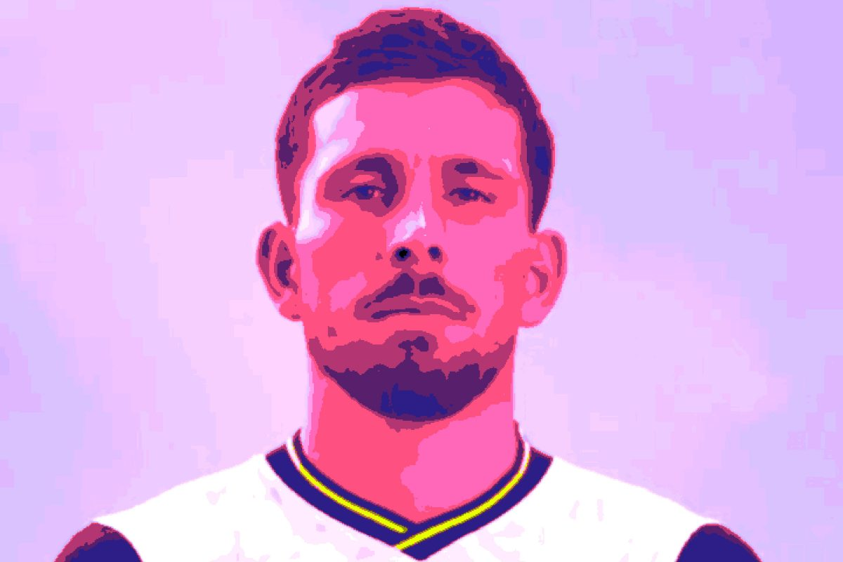 Hojbjerg in Spurs home kit