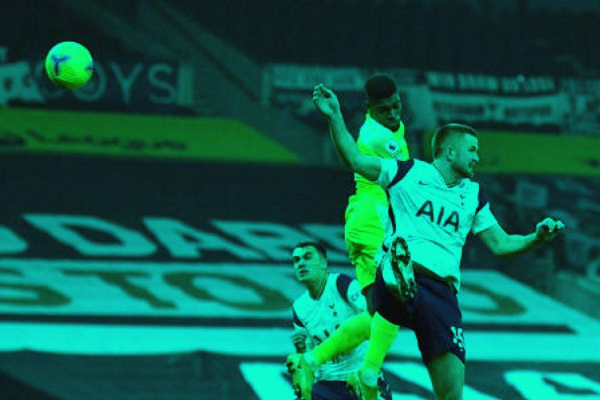 Ivan Cavaleiro scores Fulham's goal against Spurs