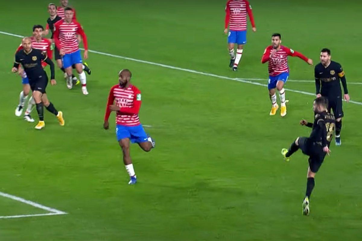 Jordi Alba goal v Granada
