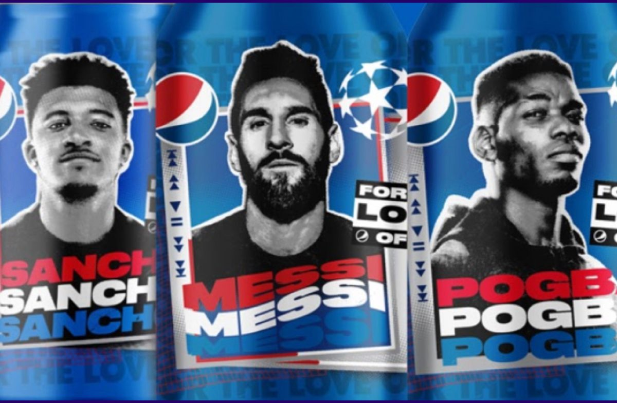 Pepsi ad feat. Messi, Pogba and Sancho