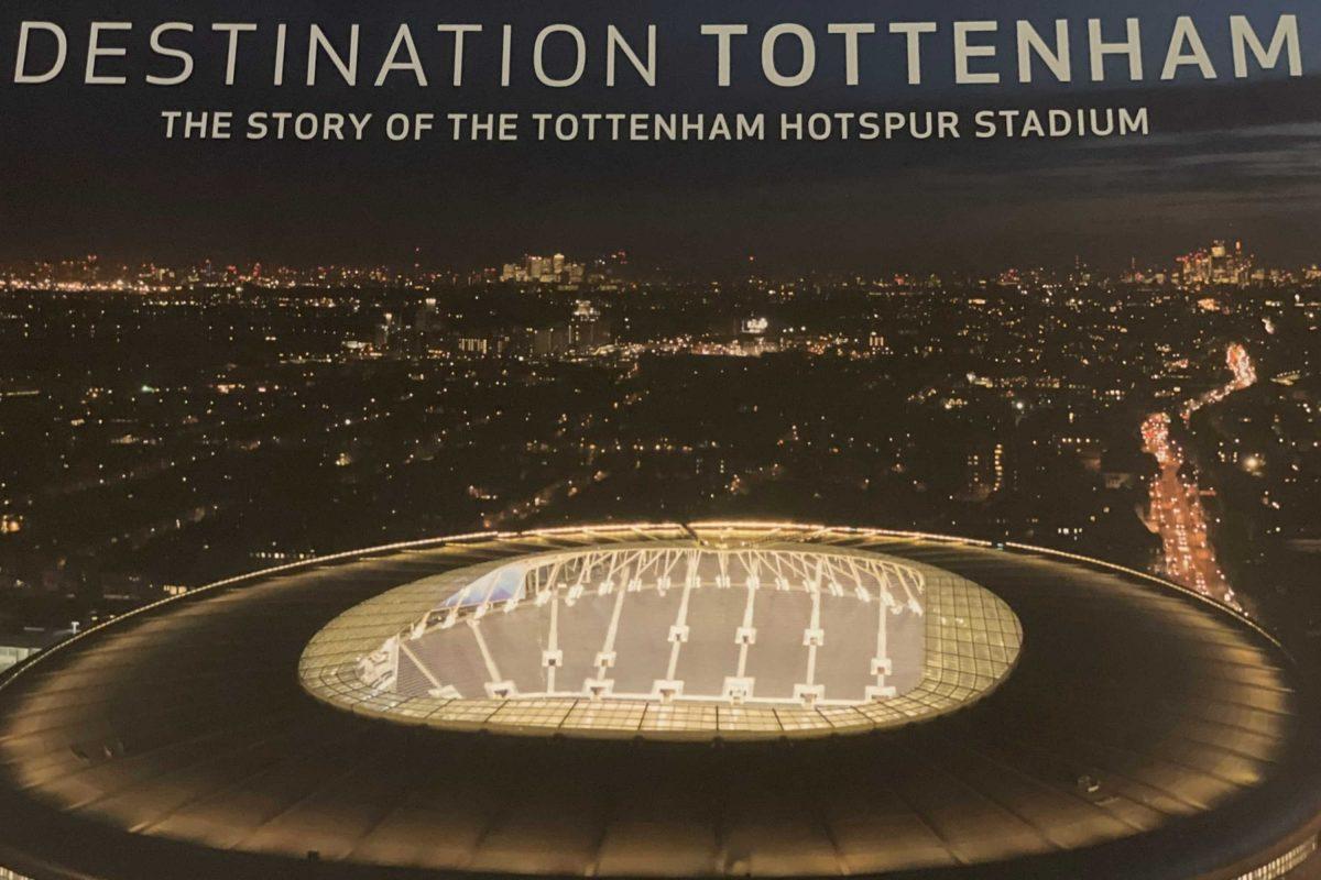 Book on Tottenham Hotspur Stadium (1)