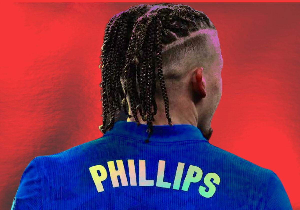 Kalvin Phillips in England shirt