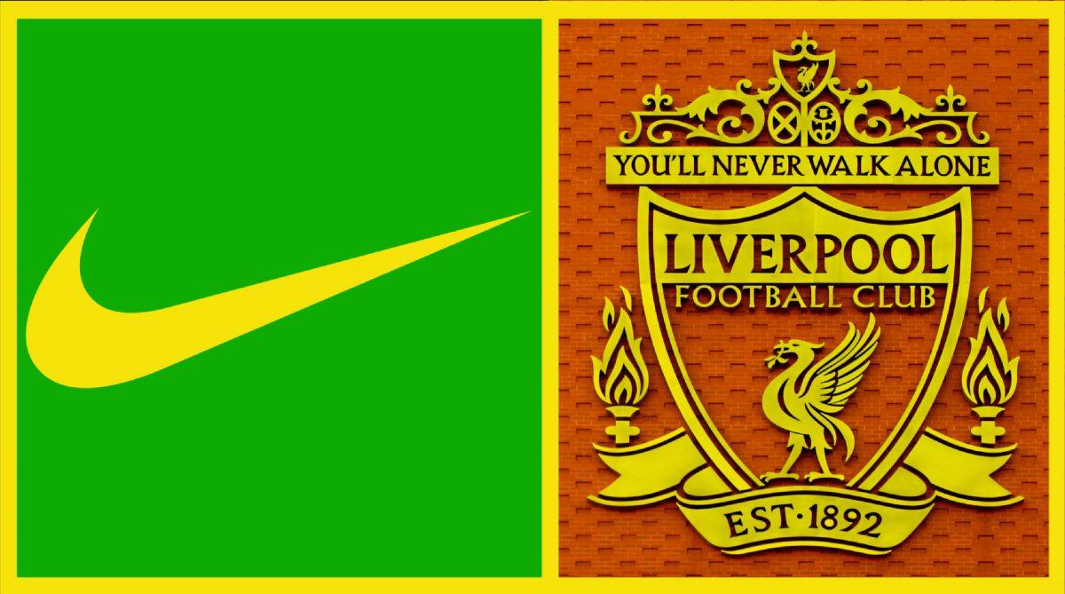 Nike and Liverpool logos