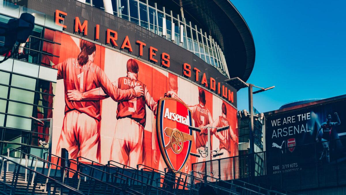 Emirates Stadium from outside