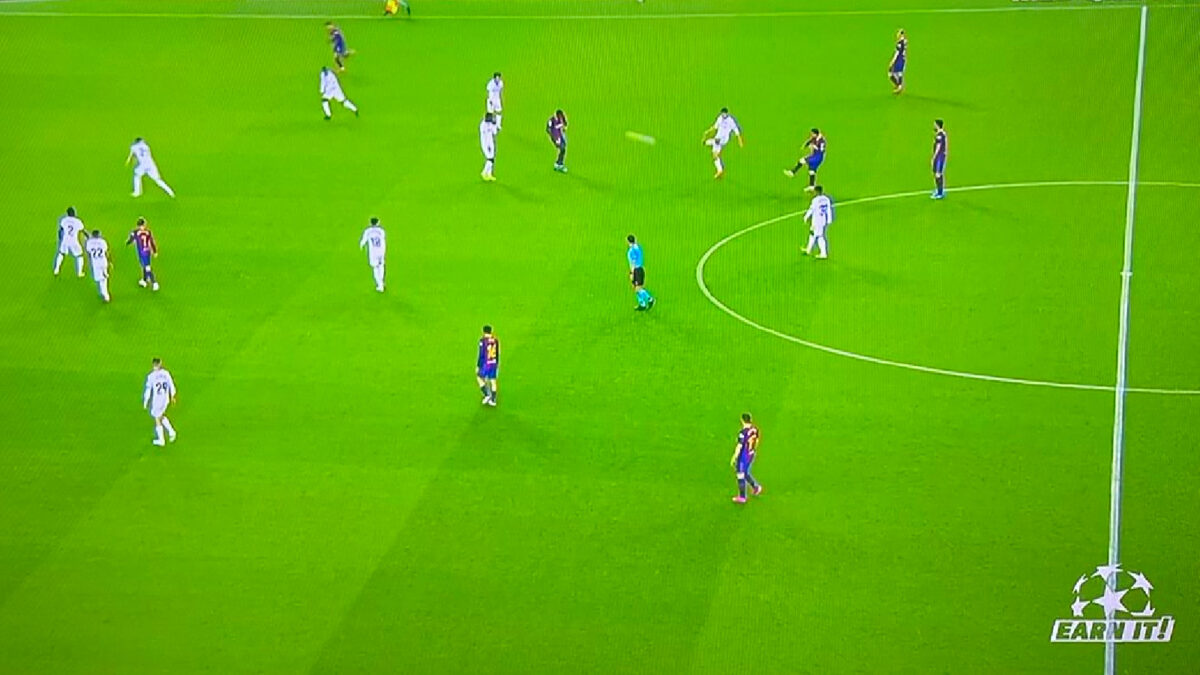 La Liga stream matches with a 'Earn It' logo on bottom right corner