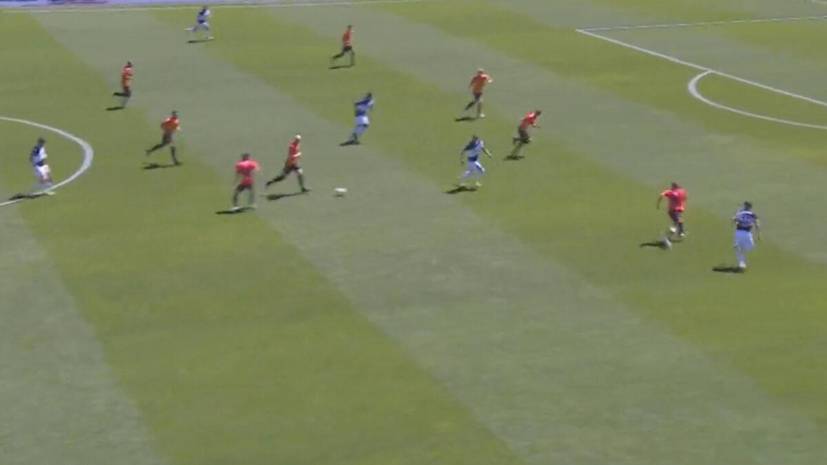 Rodrigo De Paul pass v Benevento