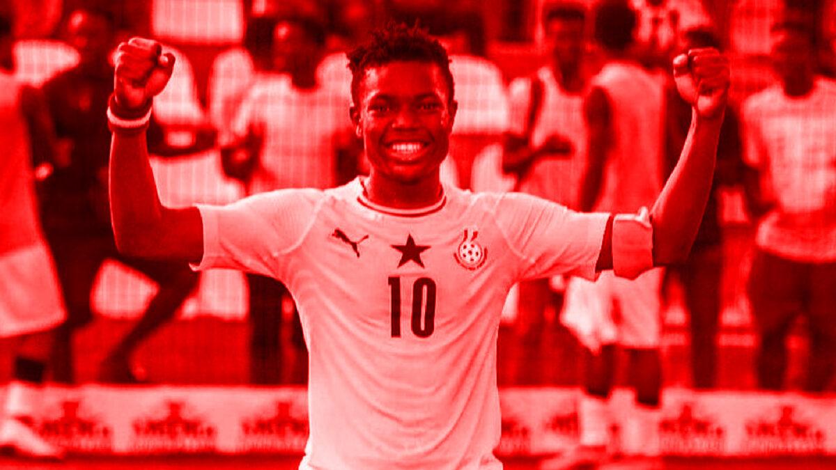 Abdul Fatawu Issahaku with Ghana U20