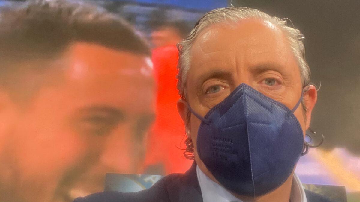 Josep Pedrerol on El Chiringuito TV