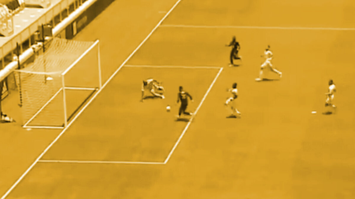 Romell Quioto open goal miss against FC Cincinnati
