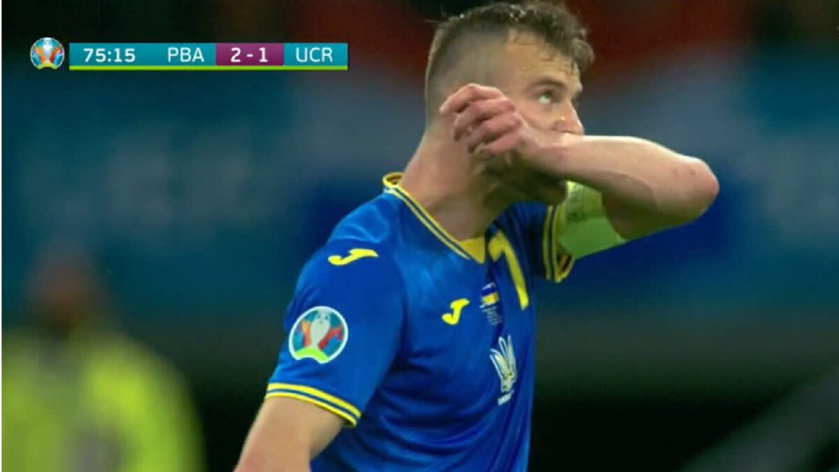 Andriy Yarmolenko gets Ukraine back in the game after a peach of a goal against Netherlands