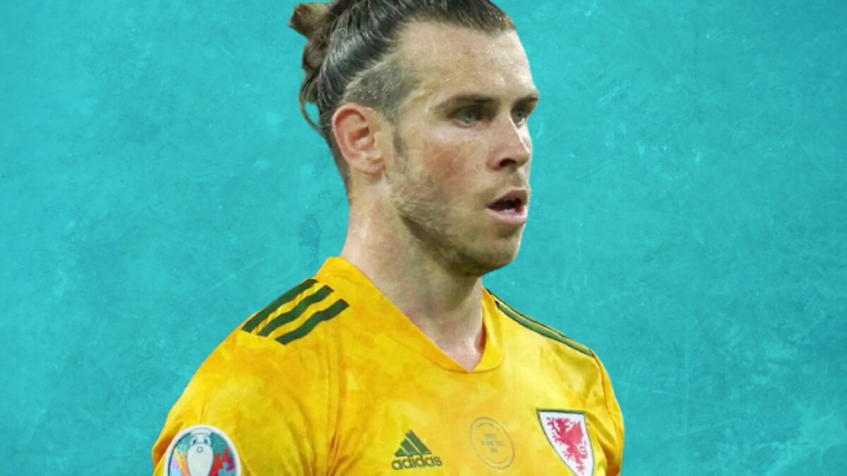 Gareth Bale completely focused during game against Turkey