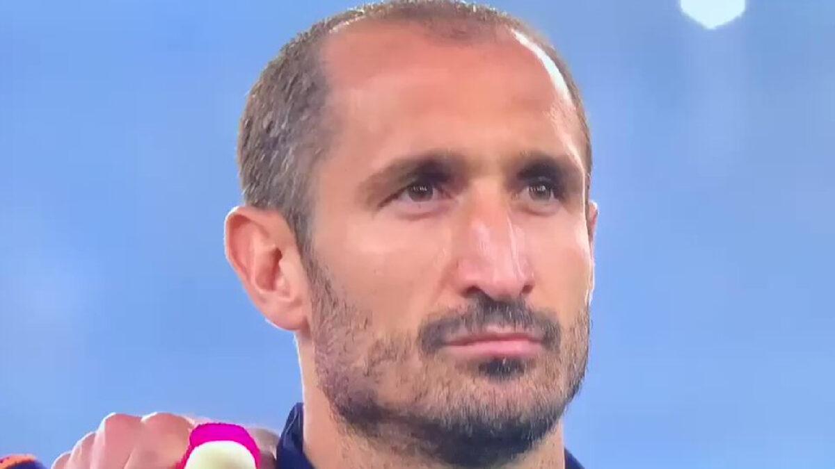 Giorgio Chiellini game face before game against Turkey