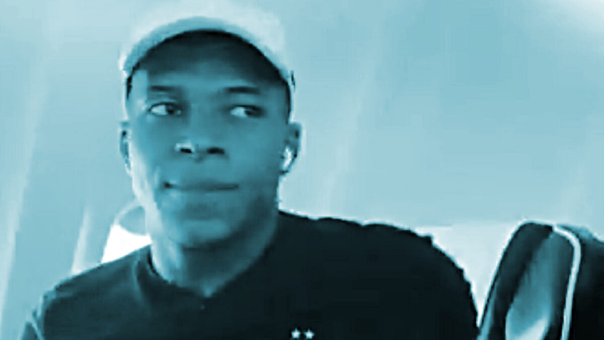 Kylian Mbappe's deadpan facial reaction after Antoine Griezmann informs that he has bought him for Newcastle United on Football Manager