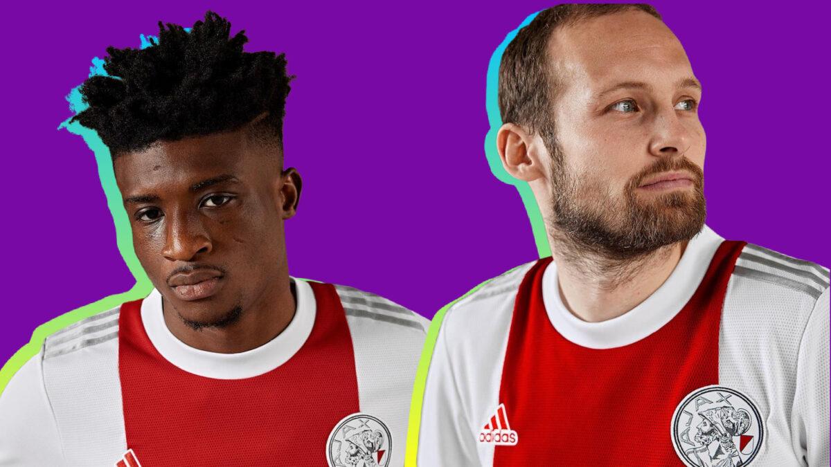 Ajax players don new Adidas home kit for next season