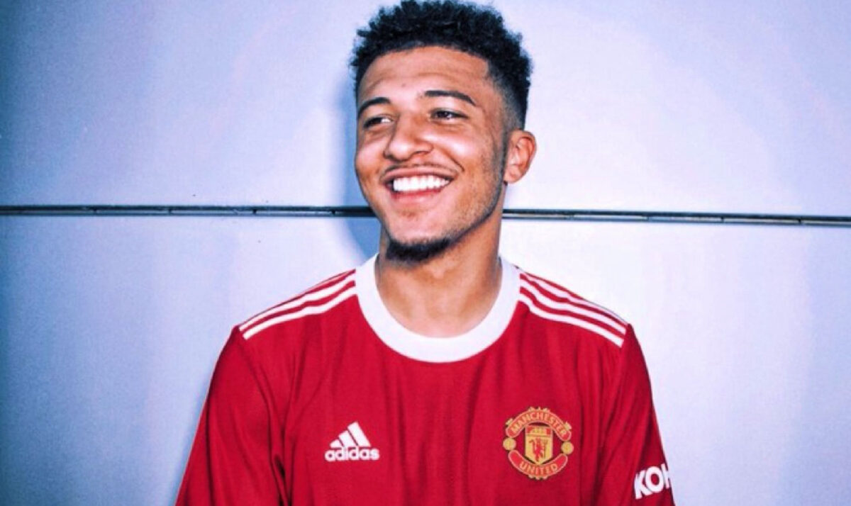 Jadon Sancho loving life as he joins Manchester United in a mega-money move from Borussia Dortmund