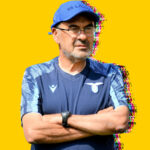 Maurizio Sarri looks on as his Lazio side make light work of Serie D outfit Belluno FC