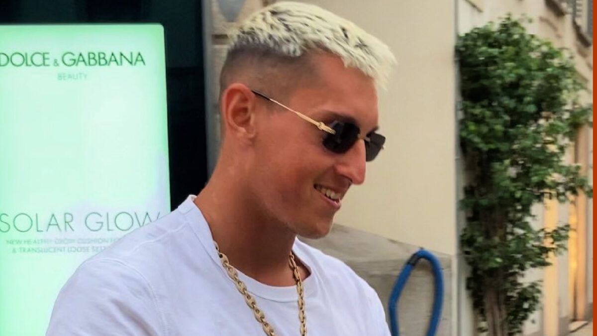 Pierluigi Gollini in good spirits after completing the first part of his Tottenham medical