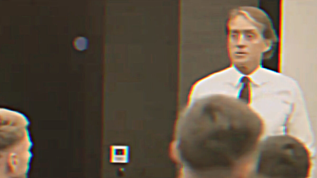 Roberto Mancini gave a rousing team talk before Italy's Euro 2020 final against England