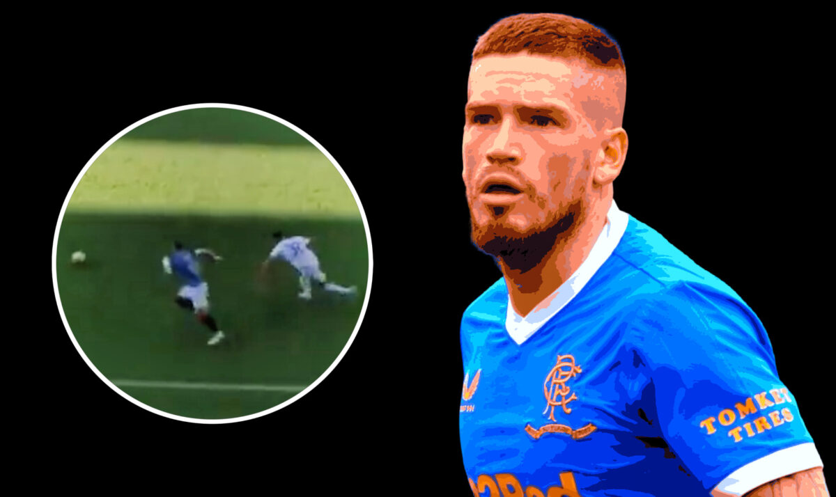 Ryan Kent tied Victor Chust in knots with his silky feet during Rangers v Real Madrid