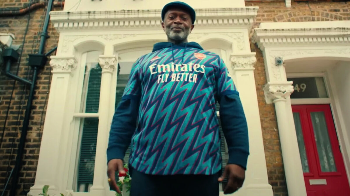 Arsenal superfan Len is the protagonist of the third kit reveal promo